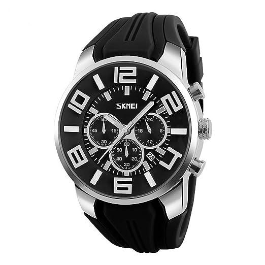 Top Fashion SKMEI relojes de lujo de marca hombres reloj Casual reloj de pulsera de cuarzo resistente al agua reloj de mujer para Relogio Masculino ...
