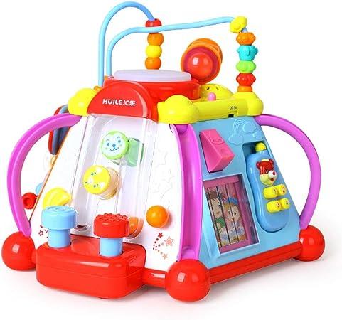 Cajas de música Juguete para bebés Mesa de juegos multifuncional Mesa de juegos para niños Juguetes
