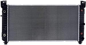 Prime Choice Auto Parts RK907 New Complete Aluminum Radiator