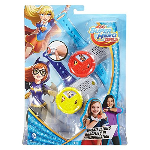 Mattel DC Super Hero Girls Wrist Walkie Talkies -  DNH03