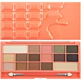 Makeup Revolution I Heart Makeup Chocolate Lidschattenpalette Chocolate and Peaches