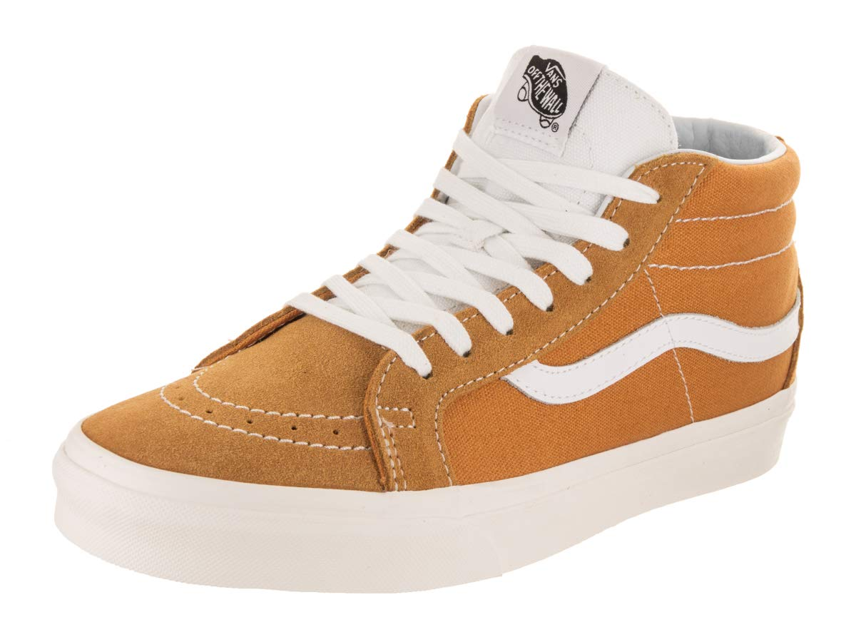 Vans Unisex Sk8-Mid Reissue Retro Sport/Sunflower Skate Shoe 10.5 Men US / 12 Women US