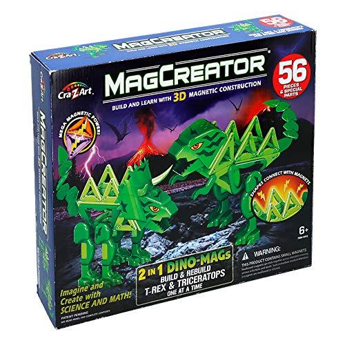 Cra-Z-Art - Magcreator Dinosaurios Kit 2 en 1 (44806)