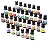 Plant Therapy Top 32 Essential Oil Set in Zippered Portfolio Case 100% Pure, Undiluted, Therapeutic Grade Essential Oils