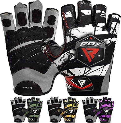 RDX Gym Weight Lifting Gloves Crossfit Powerlifting Training Bodybuilding Fitness Workout