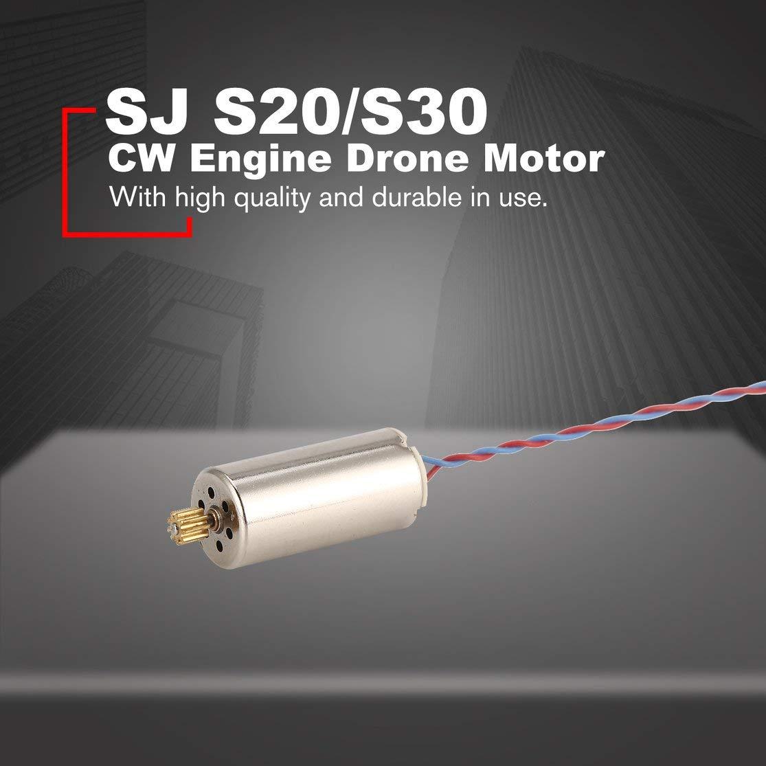 Candybarbar CW Motor Drone Motor para SJ S20 / S30 RC Drone ...