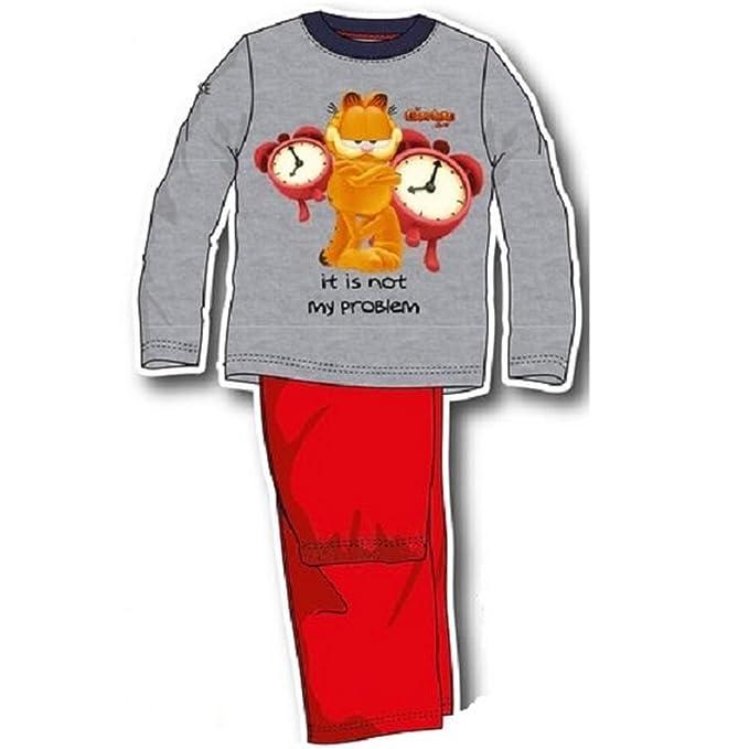 largo 3 años multicolor Garfield pijama pRq6n0R1P