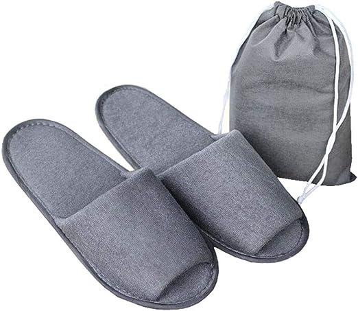 AXYS Zapatos Zapatillas Desechables SPA Inicio Partido Zapatillas Transpirable de visitantes Unisex para el Hotel Blanca del Viaje Creativo y útil (5 Pares): Amazon.es: Hogar