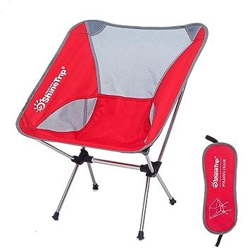 AOKASIX Silla de Camping Plegable con Bolsa Silla de ...