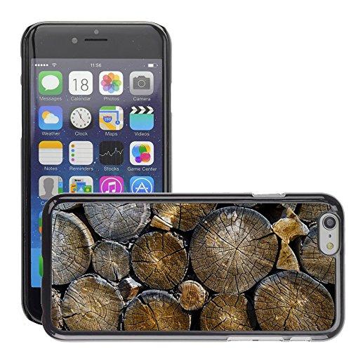 """Hard plastica indietro Case Custodie Cover pelle protettiva Per // M00421557 Grumes de bois d'oeuvre en bois Bois // Apple iPhone 6 6S 6G PLUS 5.5"""""""