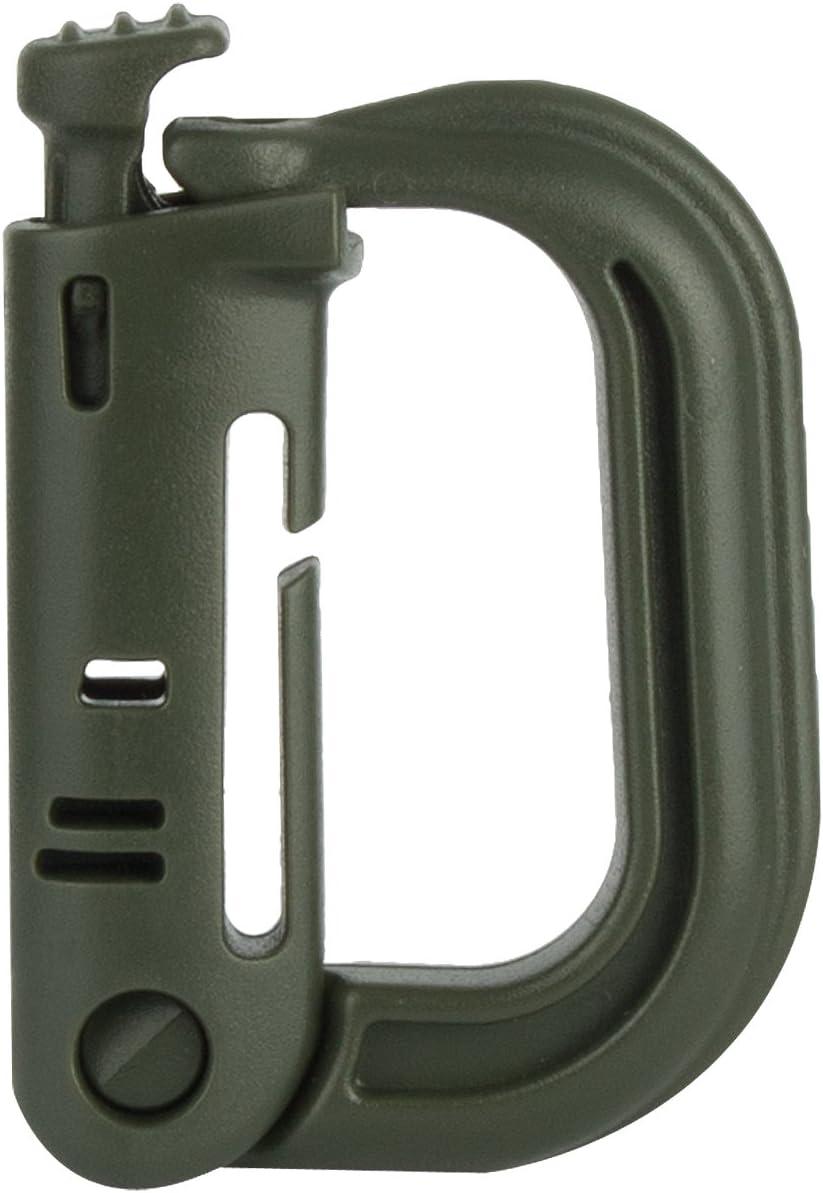 Highlander Grimloc D-Ring 25/mm Webbing fijaci/ón mosquet/ón Clip