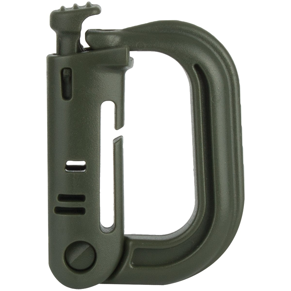 Coyote Tan MA072 ITW Grimloc D-Ring Carabiner For Attachment To 25mm Webbing by Highlander MA072 TAn