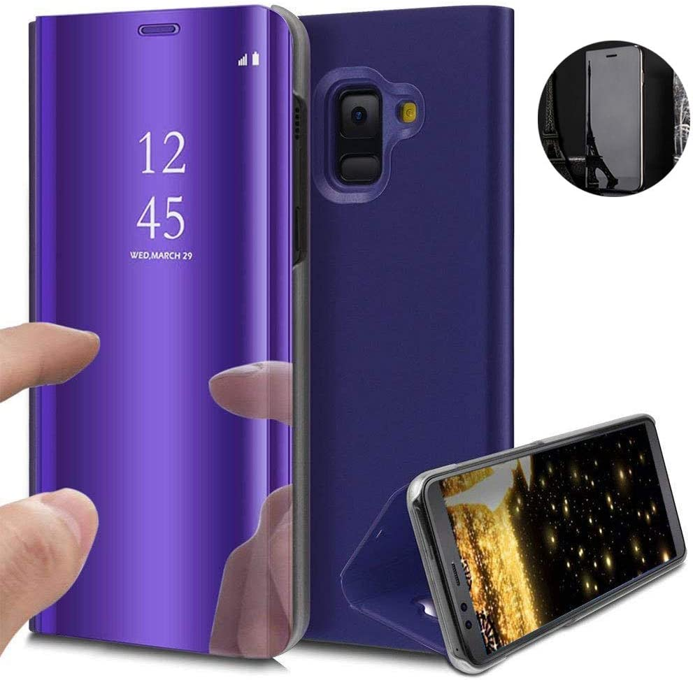 Funda Samsung Galaxy S9 Plus, Flip Tapa Libro Carcasa: Amazon.es:  Electrónica