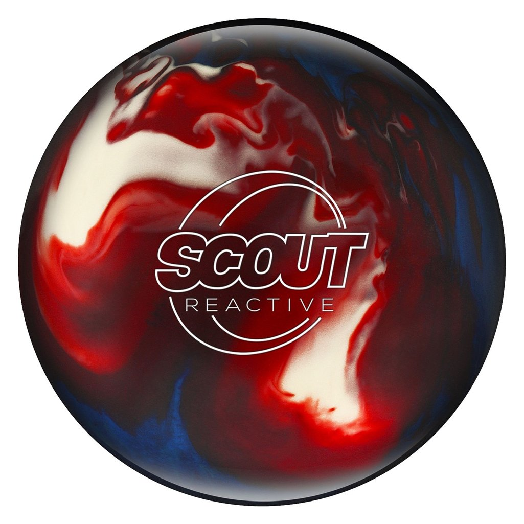 Bowlerstore製品Columbia 300 Scout Reactive Bowling ball-レッド/ホワイト/ブルー B07CNQ6W41  9lbs