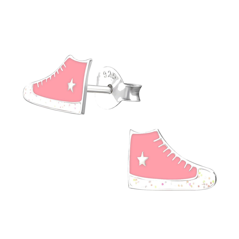 Sneaker Converse Rosa 10 mm Tata Gisele© orecchini da bambino in ...