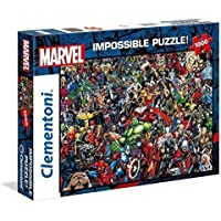 Clementoni Puzzle Impossible Marvel 1000 pzas, Multicolor (39411)