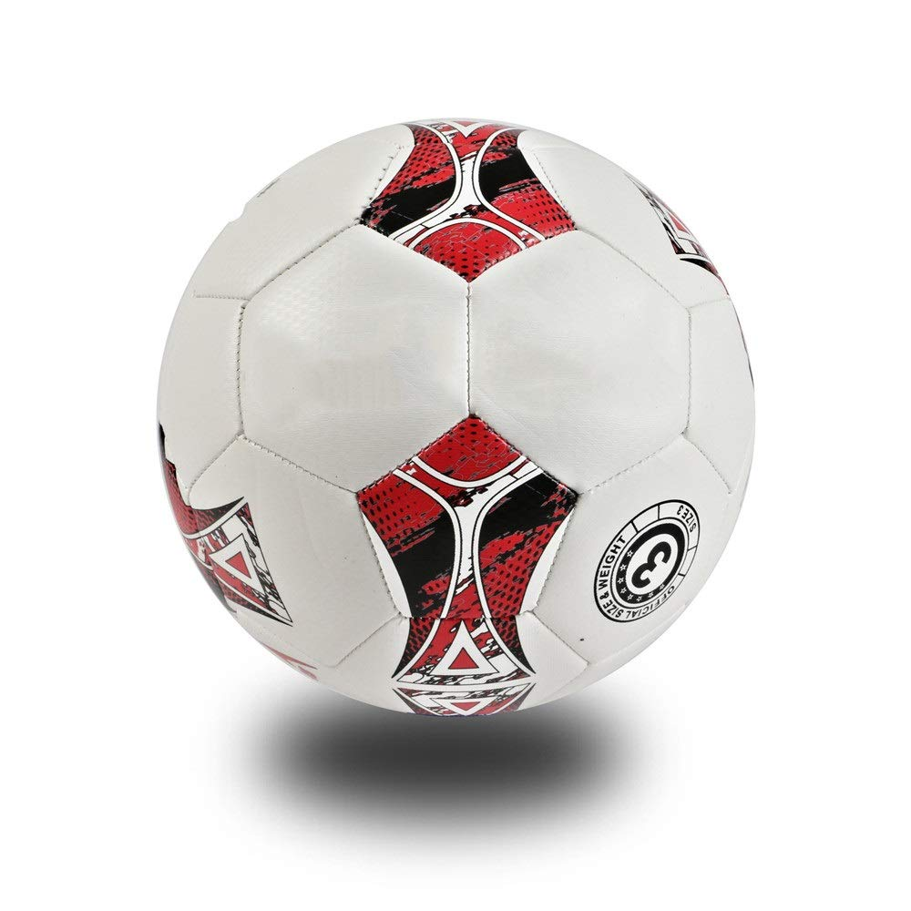 Children's football For Different Ages Outdoor Sport Traditional Soccer Ball Training Recreation Practice Ball High Performance Football Classic Sizes 3 4 Football Toy Great Gift for Boys and Girls by Liuxina