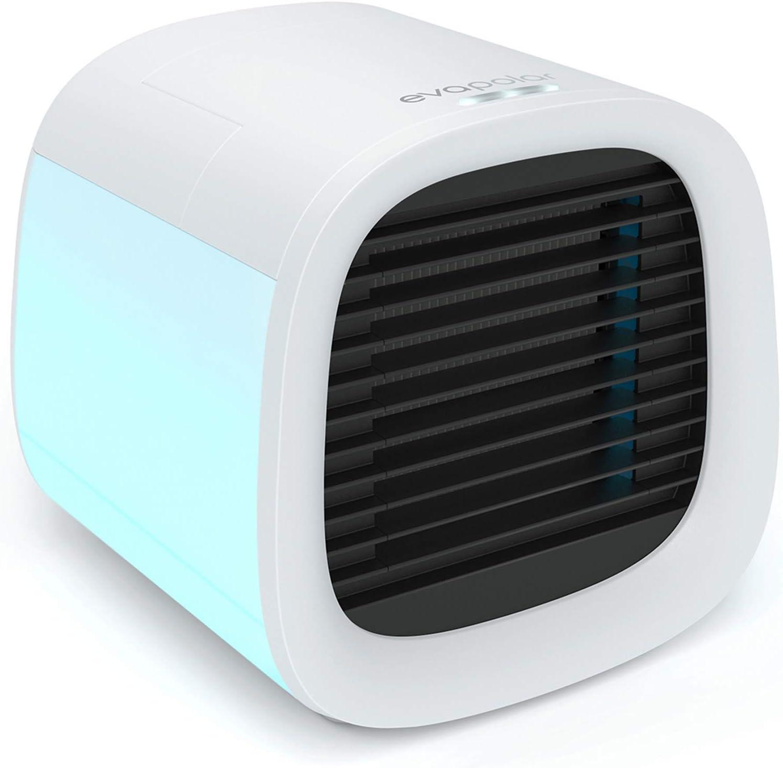 Evapolar evaCHILL - Enfriador de Aire y Humidificador, Silencioso y Portátil, Enfriador para Casa, Oficina, Camping, Viajes, Puerto USB para fácil conexión y luz Nocturna LED incorporada - Blanco