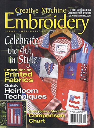 Creative Machine Embroidery Magazine (July/August 2005)