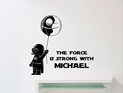 THE FORCE IS STRONG WITH THIS ONE Star Wars Parody 100/% organic cotton