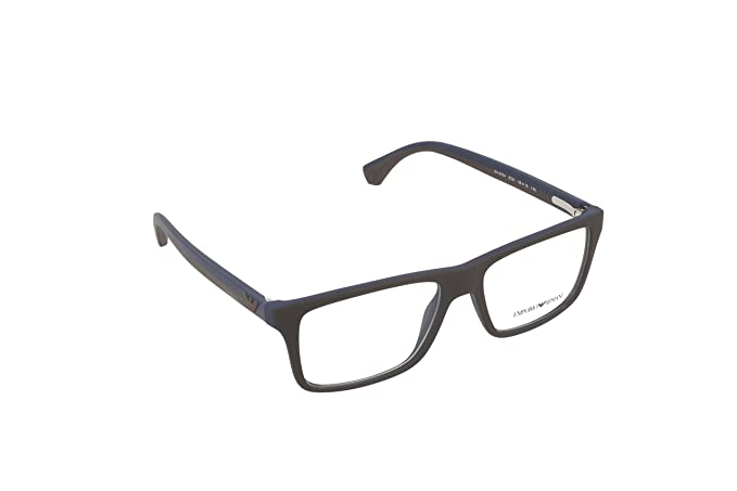 EMPORIO ARMANI EA 3034 Eyeglasses 5231 Brown RubbeRB lue 55-16-145 ... e7866c7685