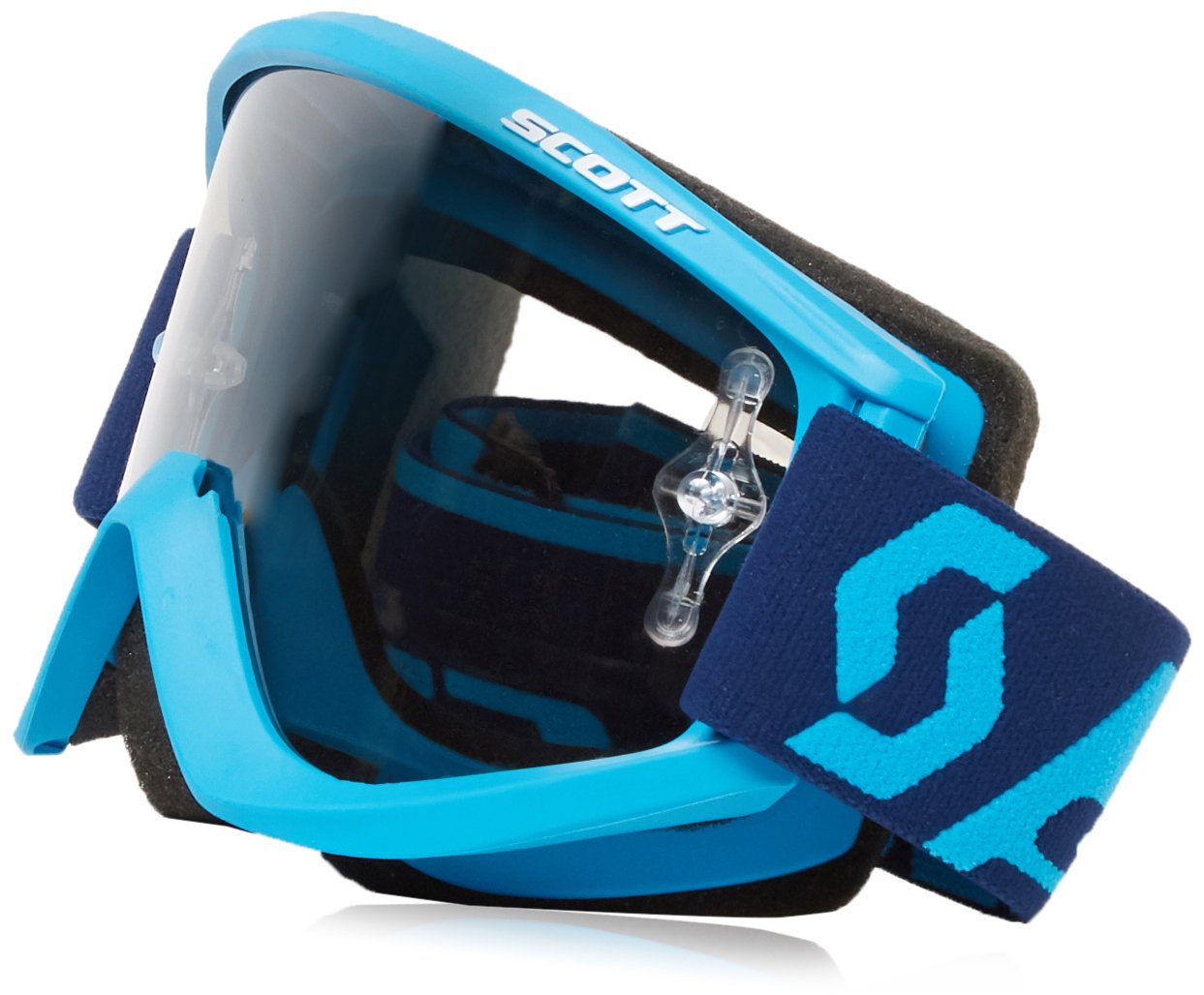 Scott Sports Recoil Unisex-Adult Goggles (Blue, Adult)