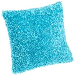 Brentwood Fifi Knife Edge 18-Inch Pillow, Turquoise