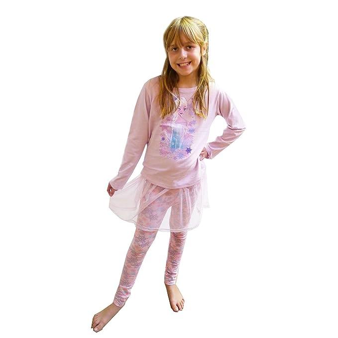 6ba6946d59 New diseño de princesas Disney ropa de descanso para niñas Frozen Elsa  pijama pijamas tutú conjunto de cinta y Chándal para hombre pijama 6-7  años  ...