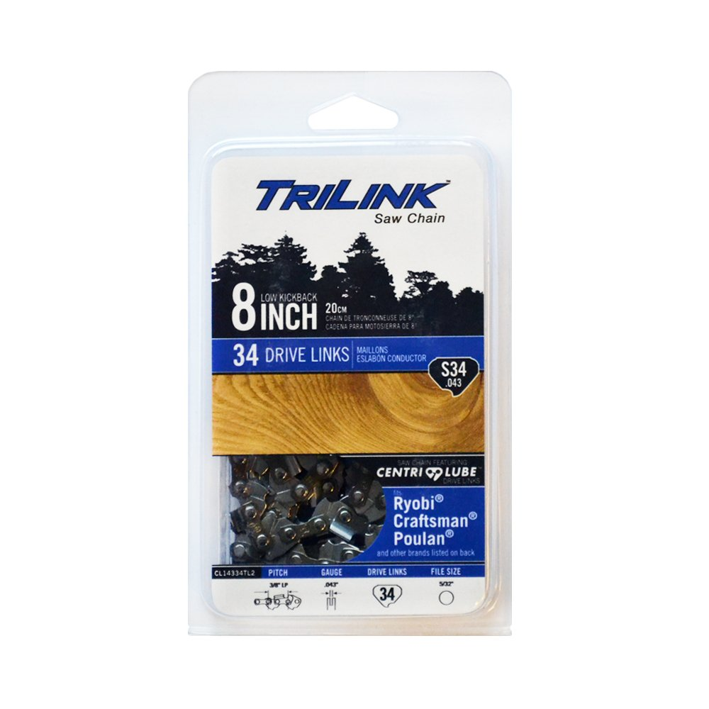 Trilink Saw Chain CL14334TL .043 34 DL 8'' Saw Chain