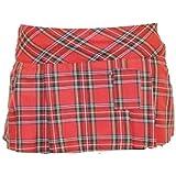 cde9f55523179 Sofias Closet Womens Red Tartan Check Kilt 14