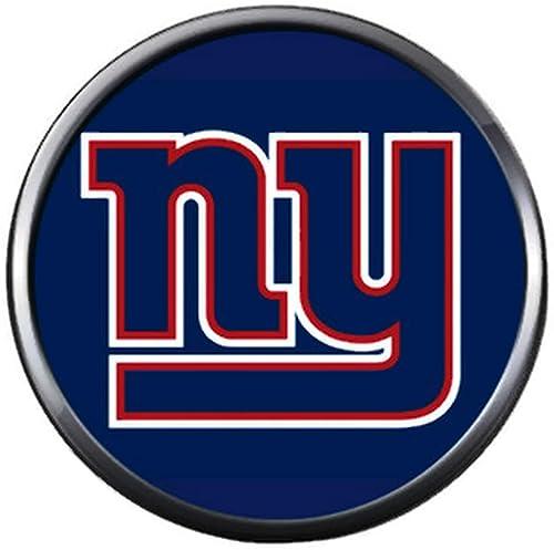 Amazon Com Nfl New York Ny Giants Logo On Blue Football