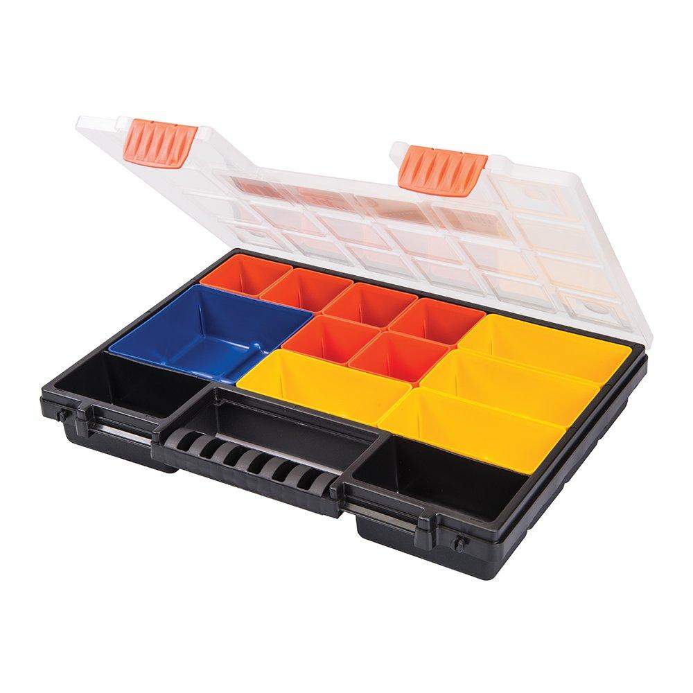 Silverline 252594 8-Compartment Organiser Storage Case - 285 x 185mm