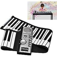 Tragbar 61 Tasten Roll-Up Klavier Faltbares Elektronisches Tastatur Piano Flexible Kinder Tastatur FÜR Anfänger Kids Practicing