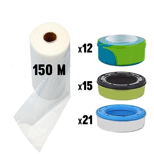 18 opinioni per Ricarica mangiapannolini compatibile ricariche Sangenic Litter Locker II