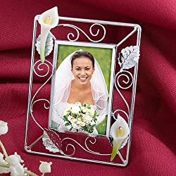 Splendid Calla Lily Design Picture Frame Wedding Favors