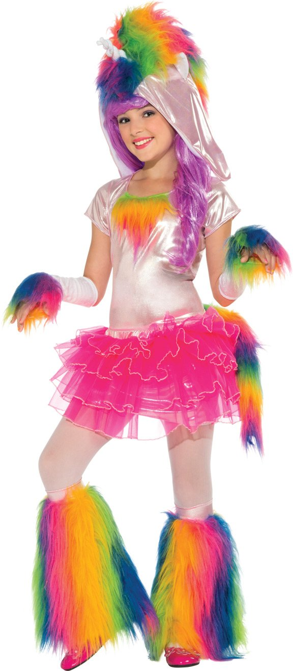 sc 1 st  Amazon.com & Amazon.com: Rainbow Unicorn Tutu Costume Large: Toys u0026 Games