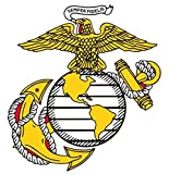 1 Pc Famous Fashionable Marines Semper Sticker Signs Doors Bumper Home Size 6