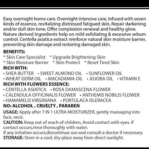 61Pl6DTSCUL - WBM Restoring Night Cream For Face   Anti-Aging Retinol Cream Moisturizer   Skin Renewing Face Cream With Hydro-Rich Essence   1.7 Oz