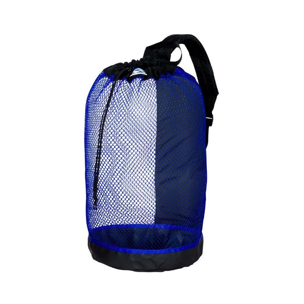 Stahlsac B.V.I. Mesh BackPack Perfect for Snorkeling Gear All Colors Snorkel Scuba Dive Diving Diver Beach Gear Boat Boating Sail Boat Sailing Travel Tote, BLUE by Stahlsac