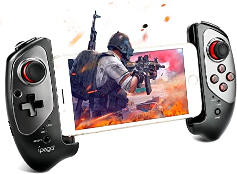 Winkeyes Mobile Gamepad Wireless Moblie Game Controller Retractable Bluetooth Gaming Controller Support Nintendo Switch, Android Tablet/Smart Phone/TV Box/Smart TV/VR, Win7/Win8/Win10 PC: Amazon.es: Electrónica