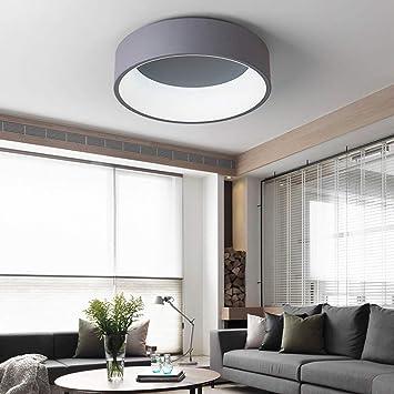 Modenny Regulable Círculo Redondo Aluminio Moderno Lámpara ...