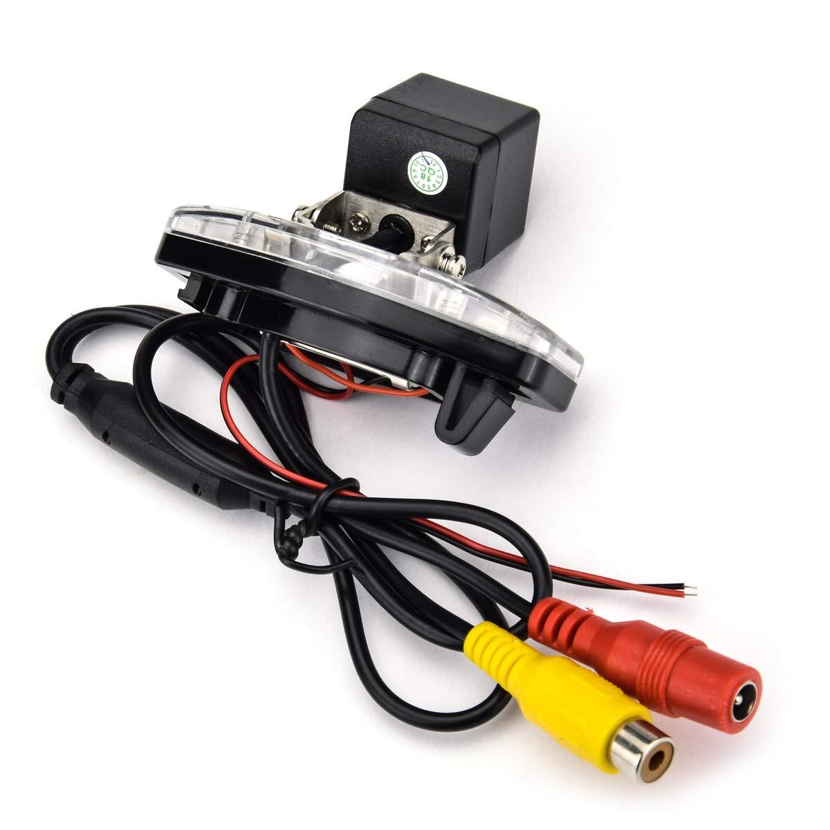 aSATAH 12 LED Adjustable Angle Car Rear View Camera for Honda Accord//Inspire//Spirior//Honda Civic VII VIII//Honda City 4D /& Waterproof and Shockproof Reversing Backup Camera 12 LED Adjustable Angle