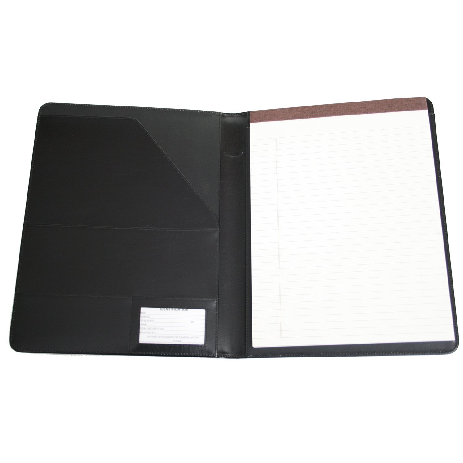Royce Leather Artisto Padfolio (Black)