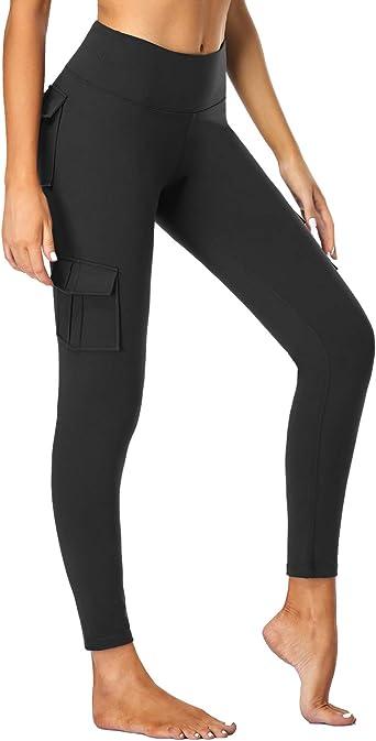 Womens Slim High Waisted Full Length Stretch Gym Yoga Sports Fitness Leggings