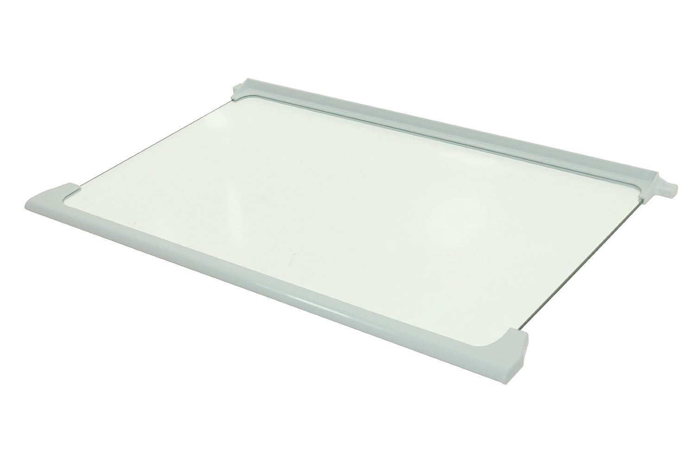 Beko Fridge Freezer Glass Shelf Assembly. Genuine Part Number 4616140700