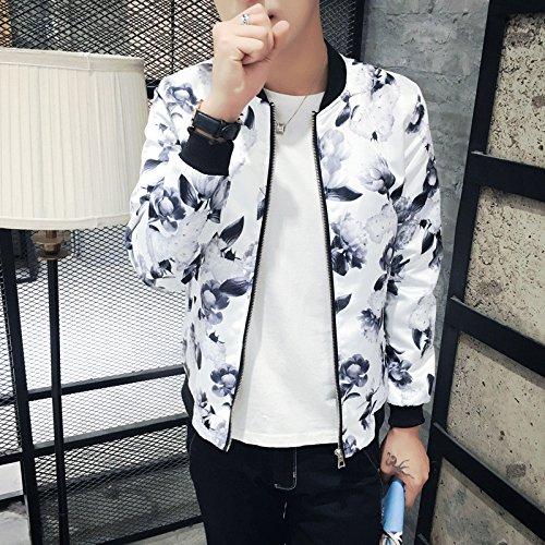Giacche Maniche Elegante Sau Jersey Lunghe Sottile E Bianco Inverno Servizio Uomo Gioventù m A Autunno dw8YqdfT