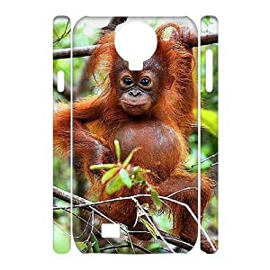 FLYBAI Monkey Phone 3D Case For Samsung Galaxy S4 i9500 [Pattern-6]