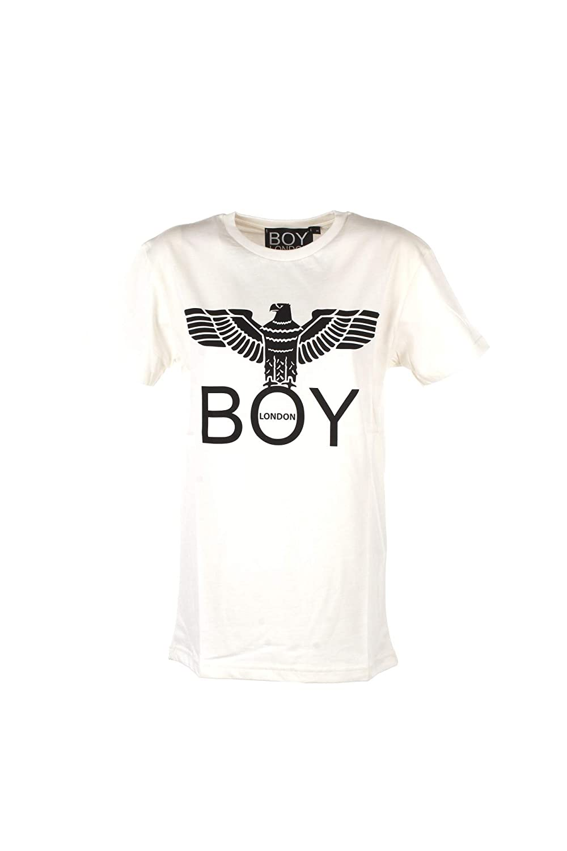6315019ab429 BOY London T Shirt Manica Corta Donna Grigio Melange  Amazon.co.uk  Clothing