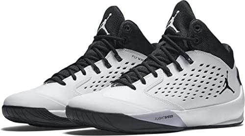 9a8bb4a4c3e6 Image Unavailable. Image not available for. Colour  Nike Jordan RISING HIGH  mens basketball-shoes 768931-107 18 - WHITE WOLF GREY