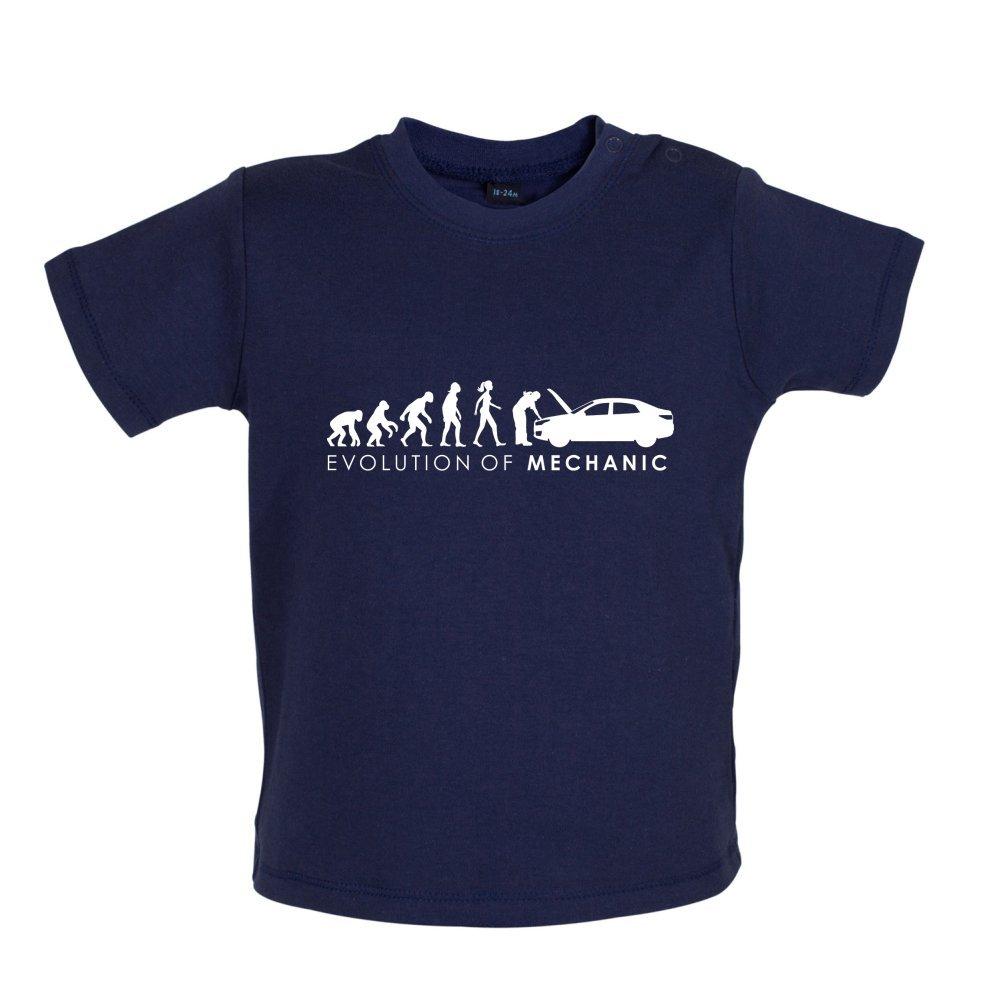 Mechanic Baby//Toddler T-Shirt 3-24 Months Dressdown Evolution of Woman